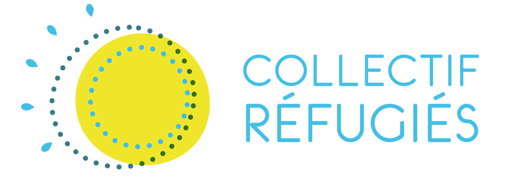 Logo Collectif Refugies 2019